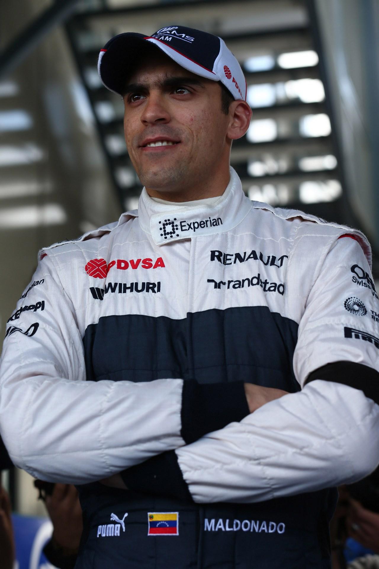 17.03.2013- Pastor Maldonado (VEN) Williams F1 Team FW35