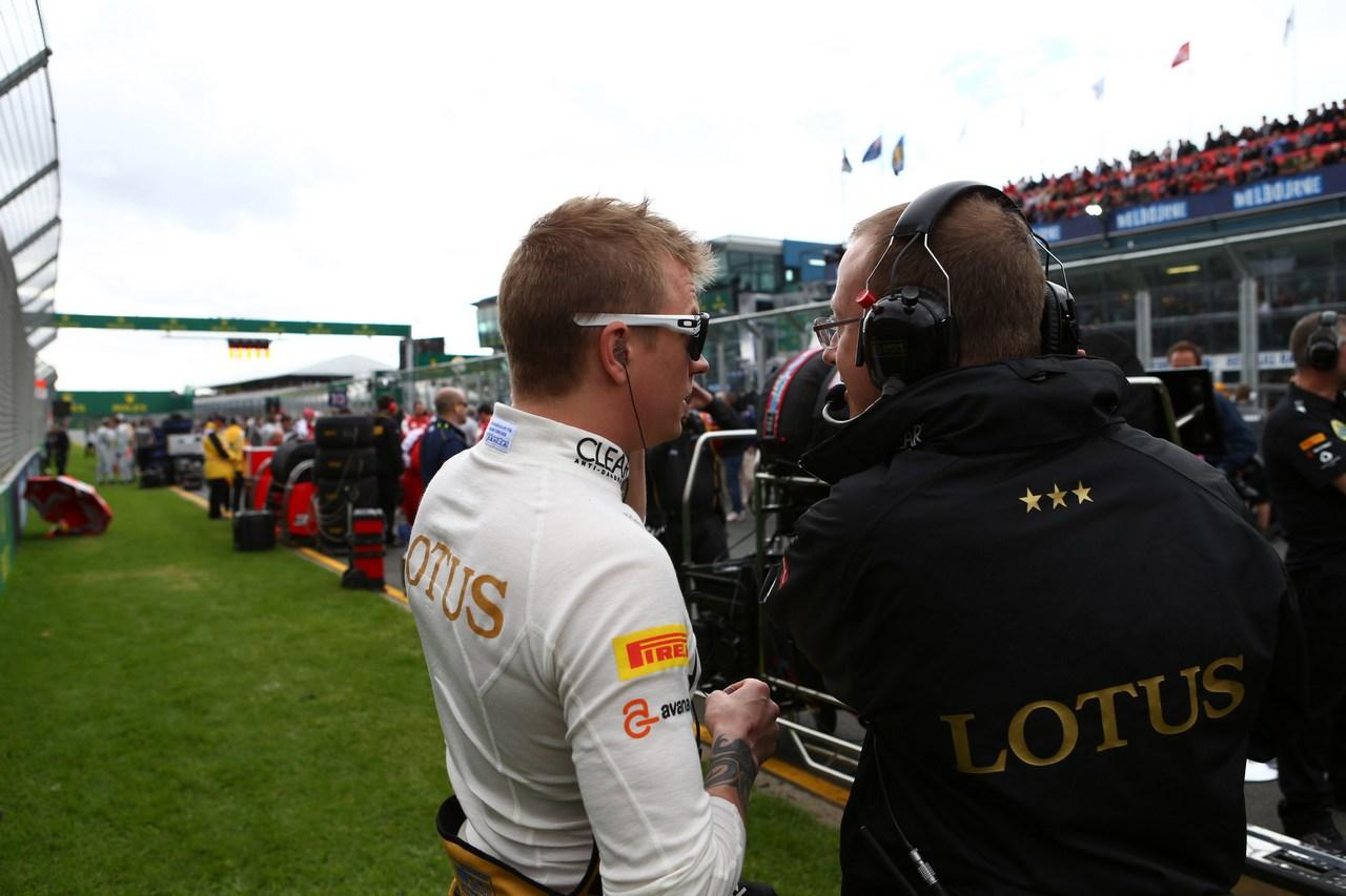 17.03.2013- Race,Kimi Raikkonen (FIN) Lotus F1 Team E21
