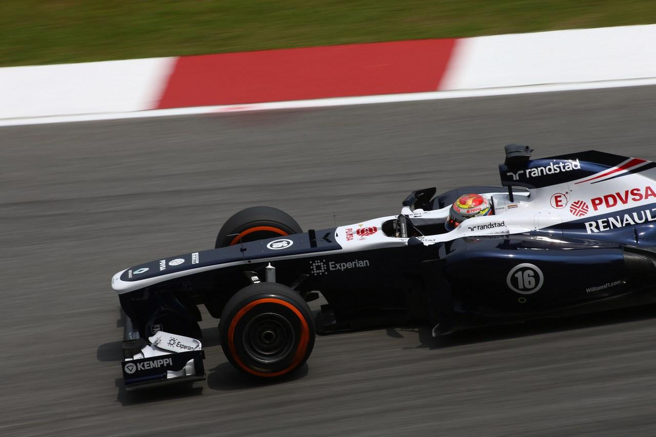 22.03.2013 - free practice 2, Pastor Maldonado (VEN) Williams F1 Team FW35