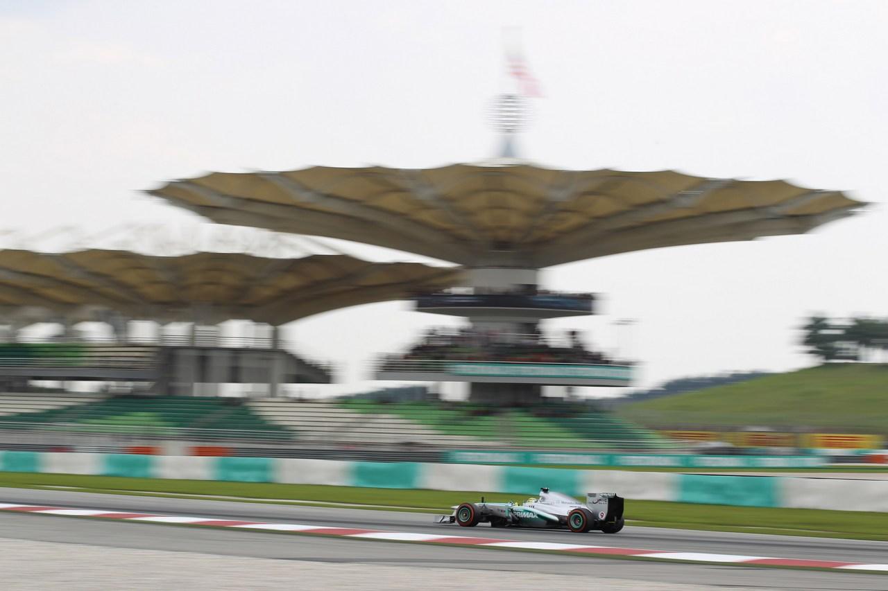 22.03.2013 - free practice 2, Nico Rosberg (GER) Mercedes AMG F1 W04