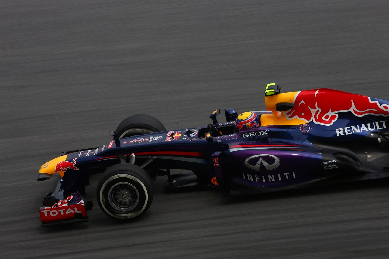 22.03.2013 - free practice 2, Mark Webber (AUS) Red Bull Racing RB9