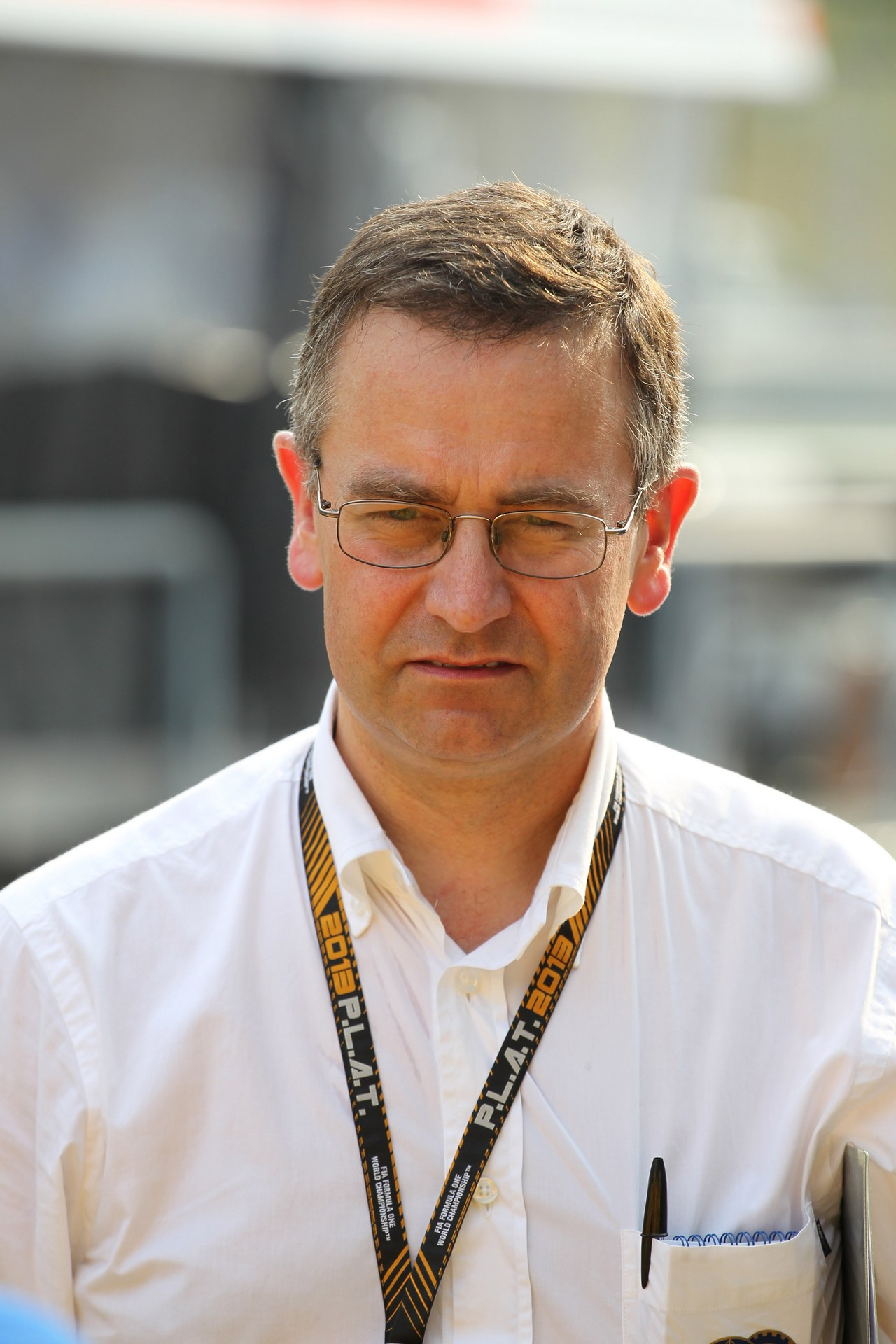 21.03.2013- Dr. Ian Roberts (GBR) FIA Doctor