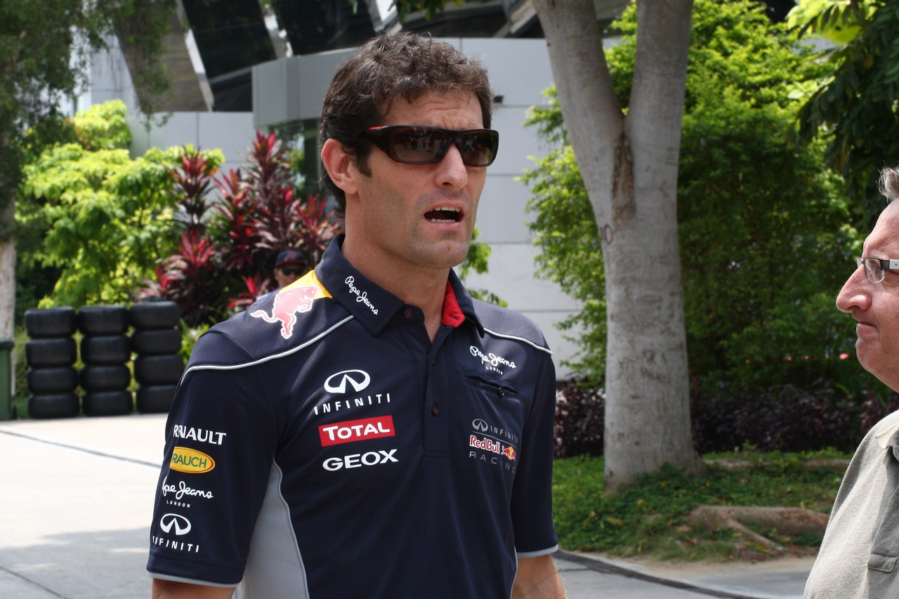 21.03.2013- Mark Webber (AUS) Red Bull Racing RB9