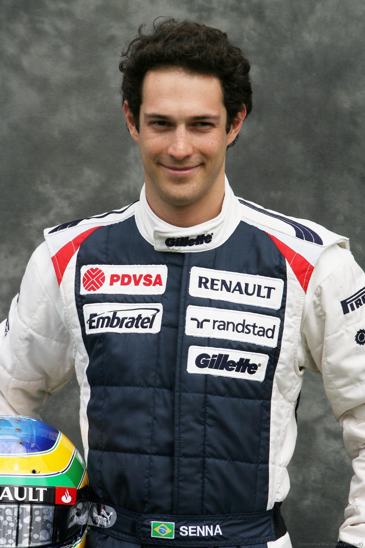 Bruno Senna (BRA) Williams F1 Team