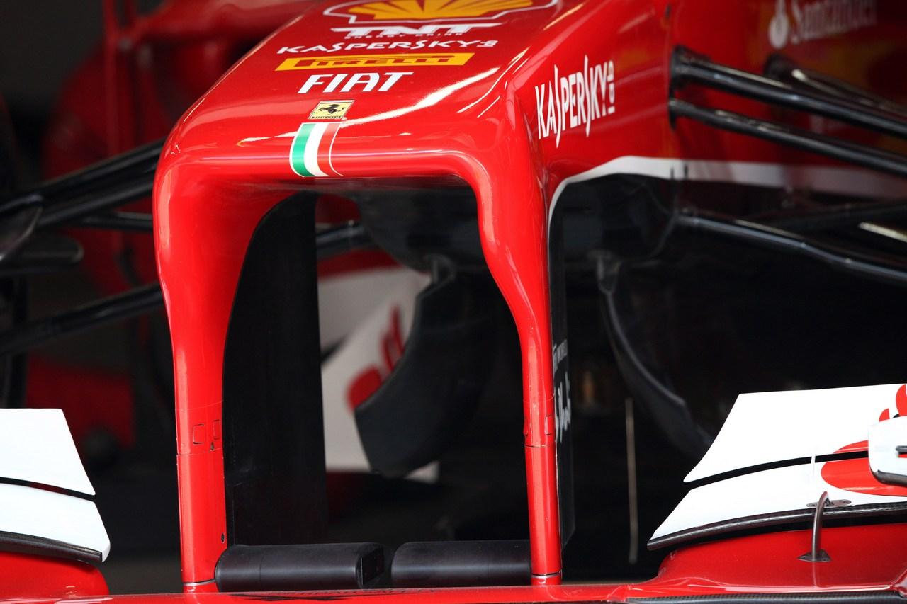 12.04.2013- Scuderia Ferrari F138