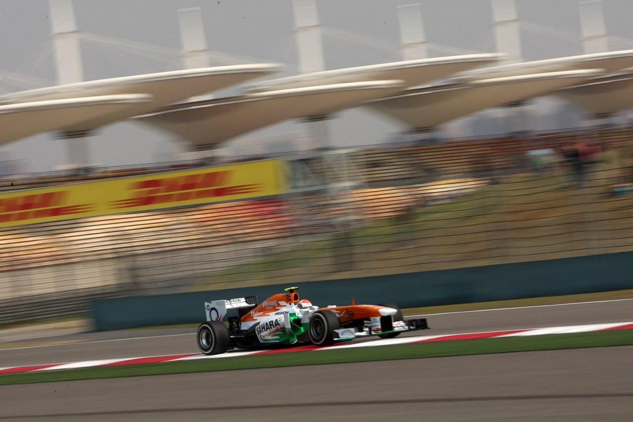 12.04.2013- Free Practice 2, Adrian Sutil (GER), Sahara Force India F1 Team VJM06