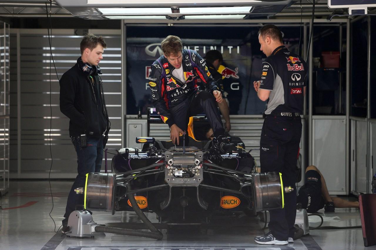 12.04.2013- Sebastian Vettel (GER) Red Bull Racing RB9