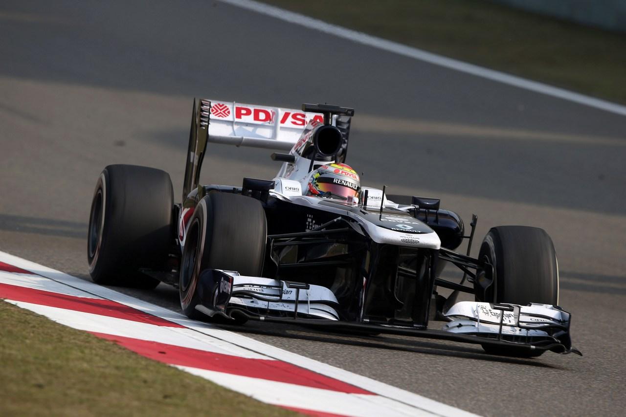 12.04.2013- Free Practice 2, Pastor Maldonado (VEN) Williams F1 Team FW35