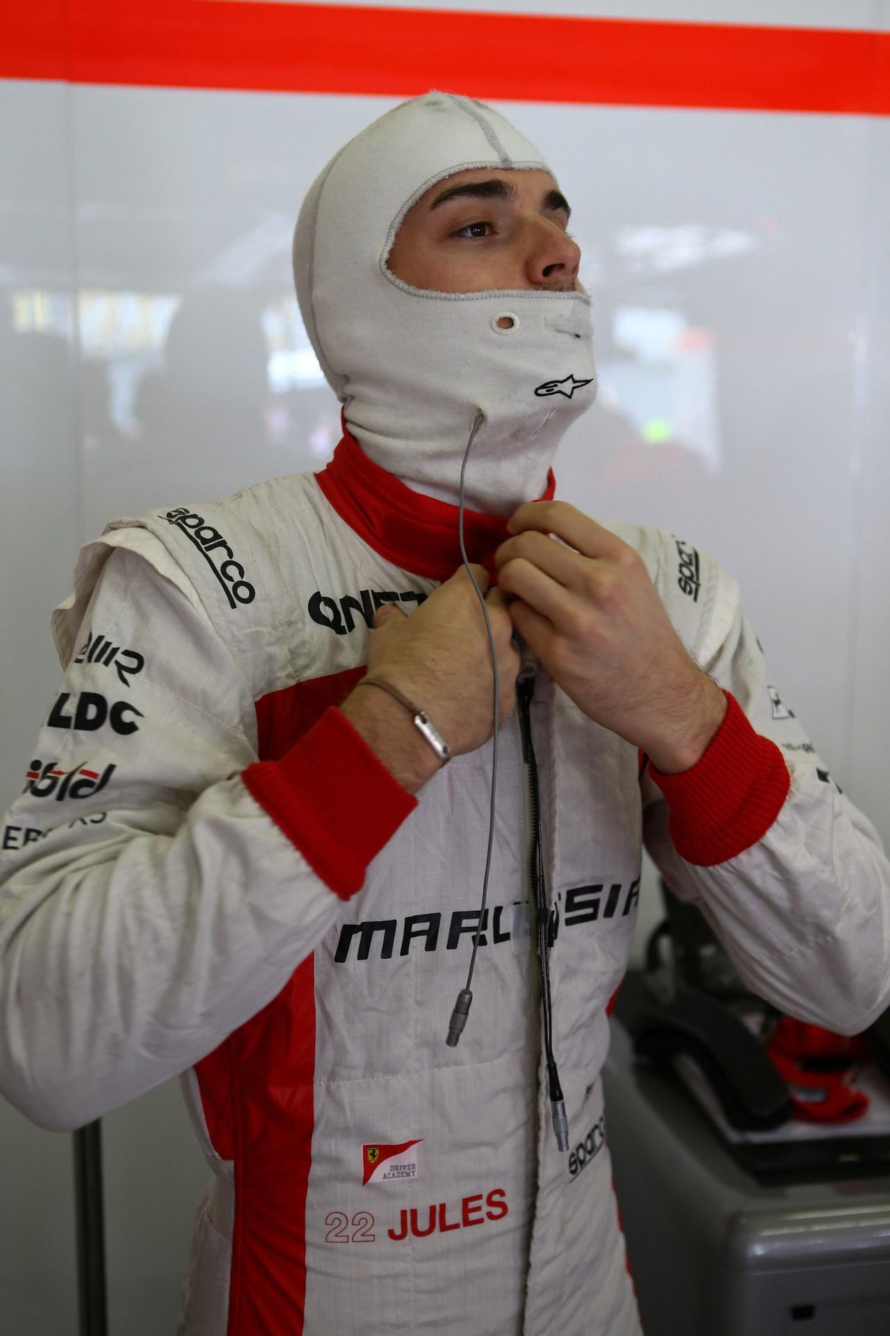 12.04.2013- Jules Bianchi (FRA) Marussia F1 Team MR02