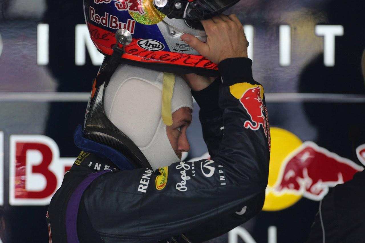 12.04.2013- Free Practice 1, Sebastian Vettel (GER) Red Bull Racing RB9