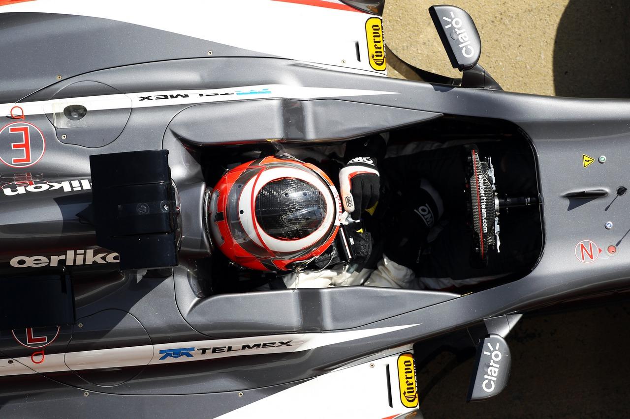 Nico Hulkenberg (GER) Sauber C32. 03.03.2013.