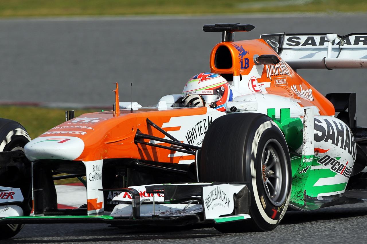 Paul di Resta (GBR) Sahara Force India VJM06. 03.03.2013.