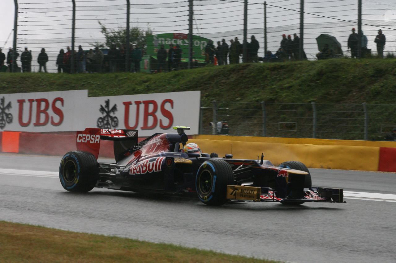 31.08.2012- Free Practice 1, Jean-Eric Vergne (FRA) Scuderia Toro Rosso STR7