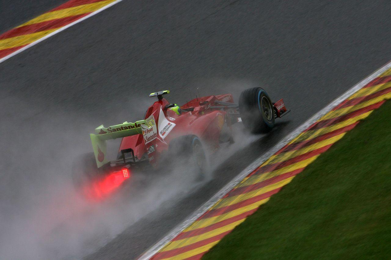 31.08.2012- Free Practice 2, Felipe Massa (BRA) Scuderia Ferrari F2012