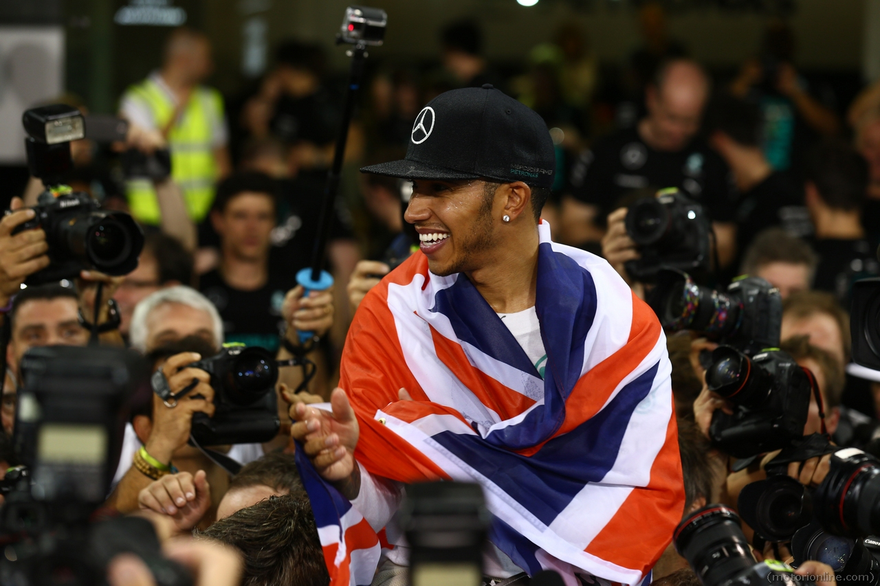 Hamilton Weltmeister