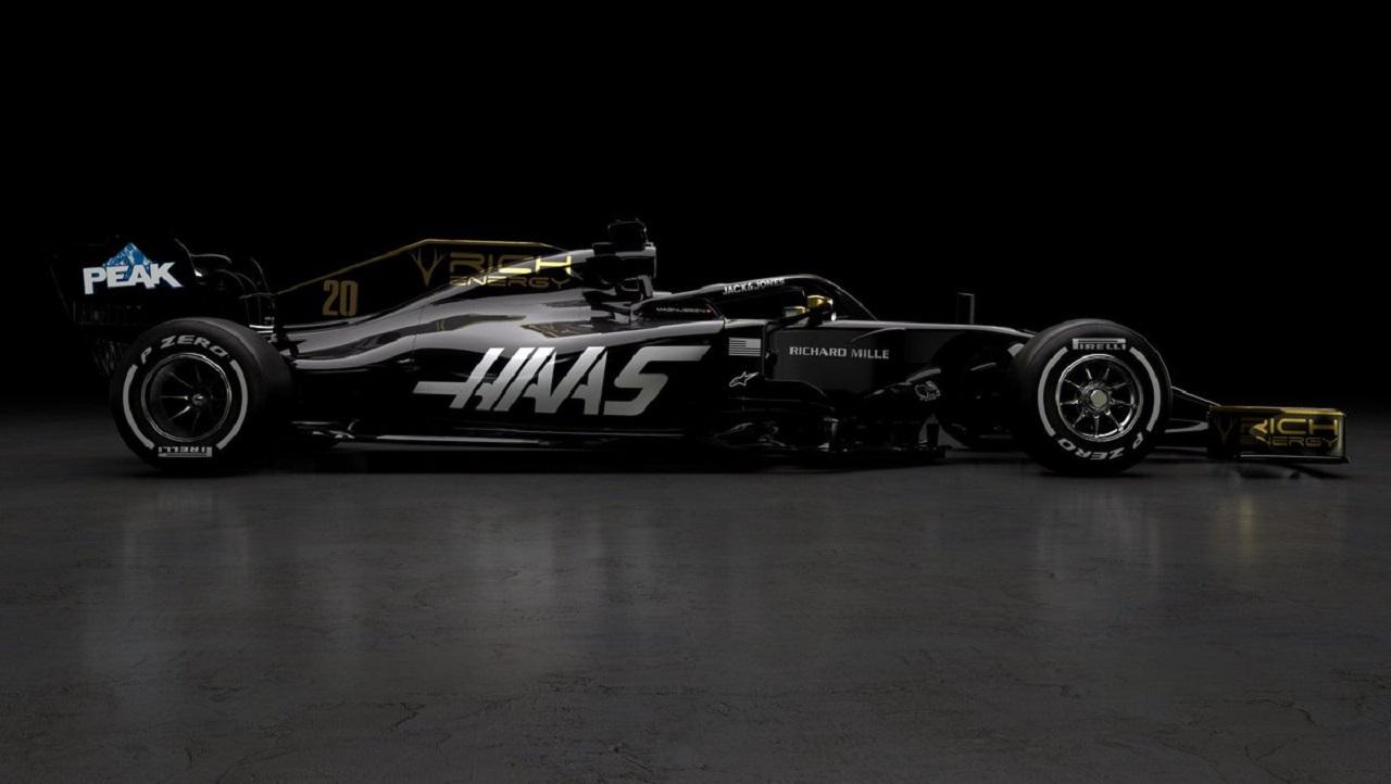 Livrea Rich Energy Haas Formula One Team