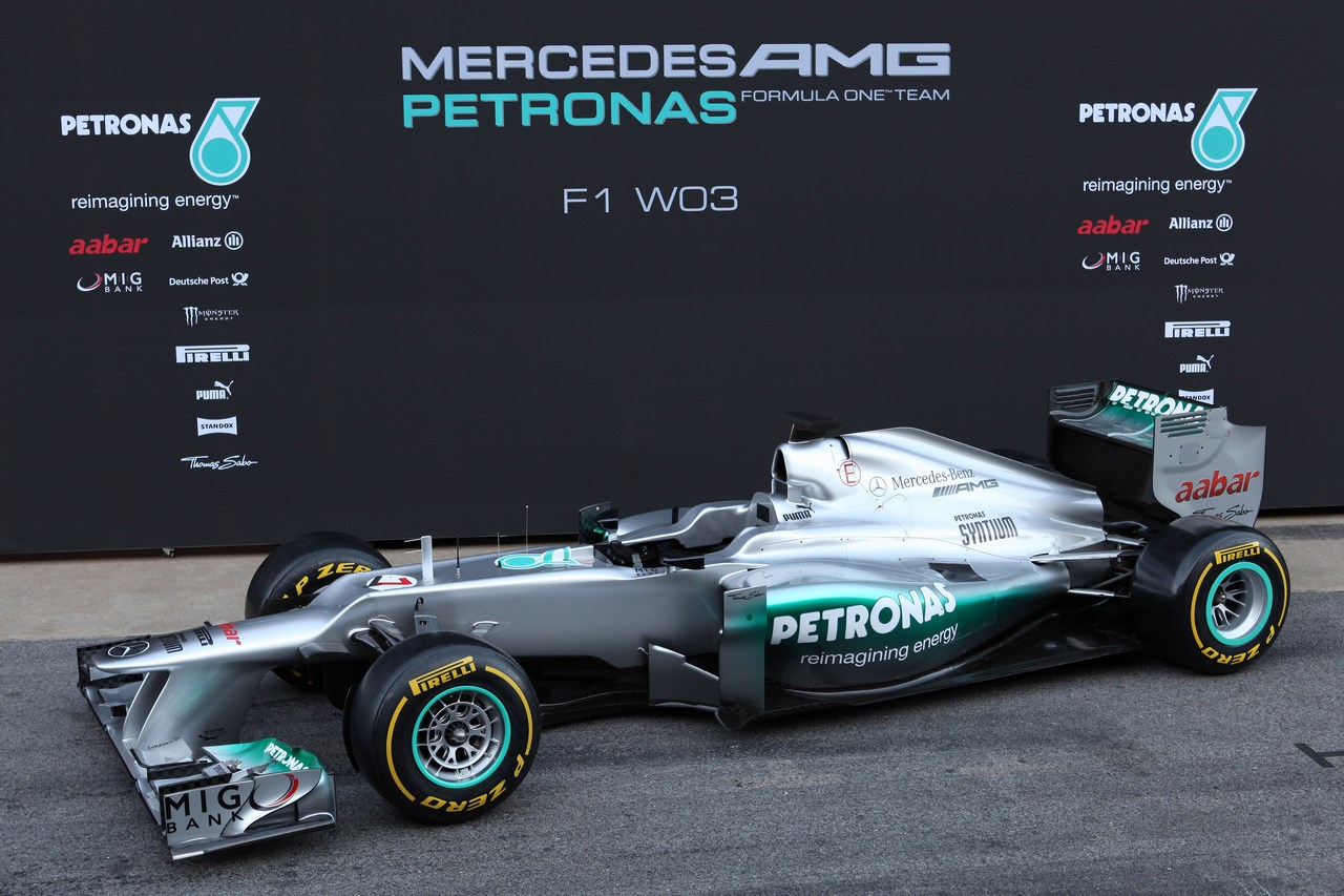 21.02.2012 Barcelona, Spain, The New Mercedes W03 - Mercedes F1 W03 Launch