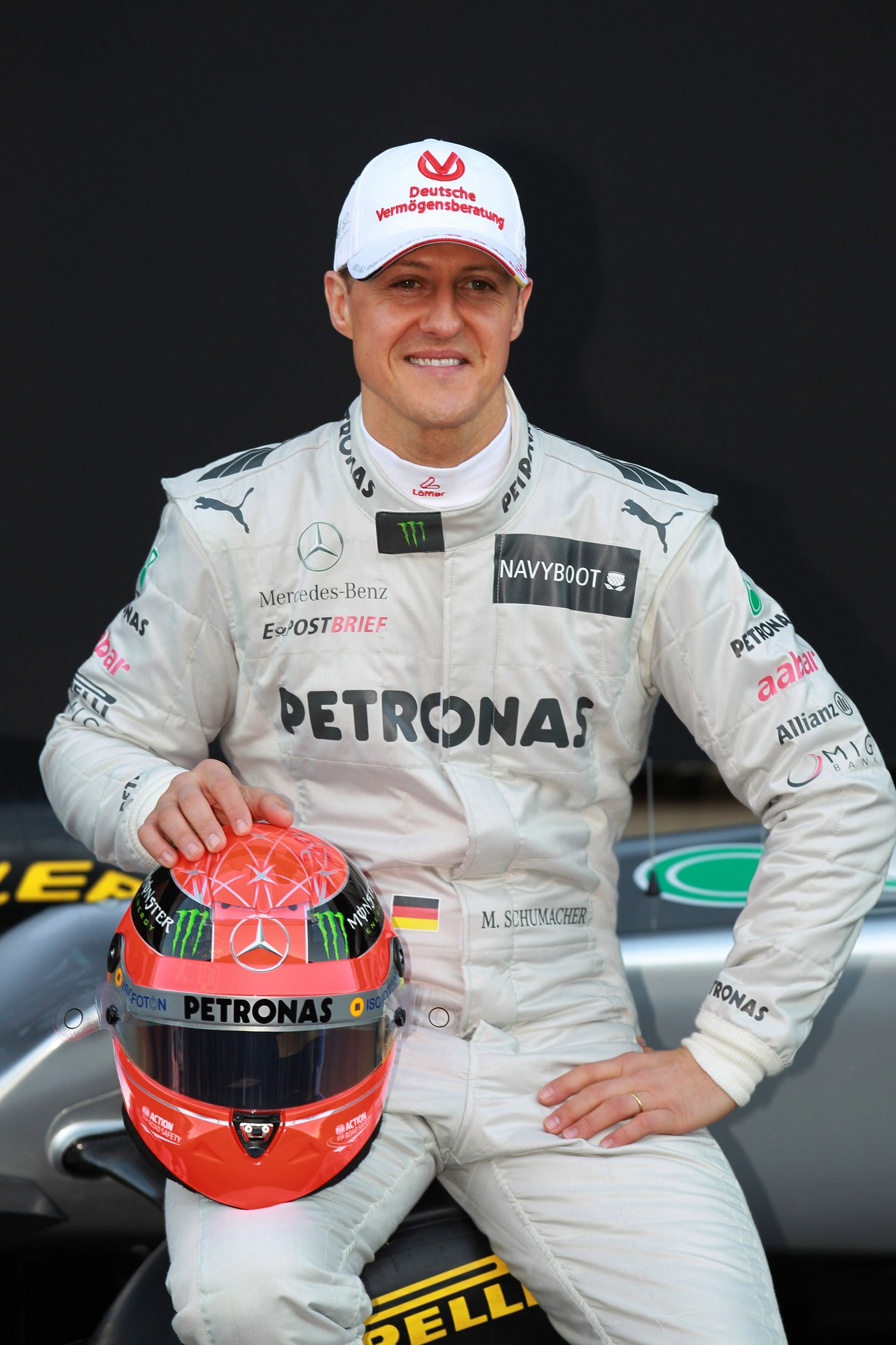21.02.2012 Barcelona, Spain, Michael Schumacher (GER), Mercedes GP - Mercedes F1 W03 Launch