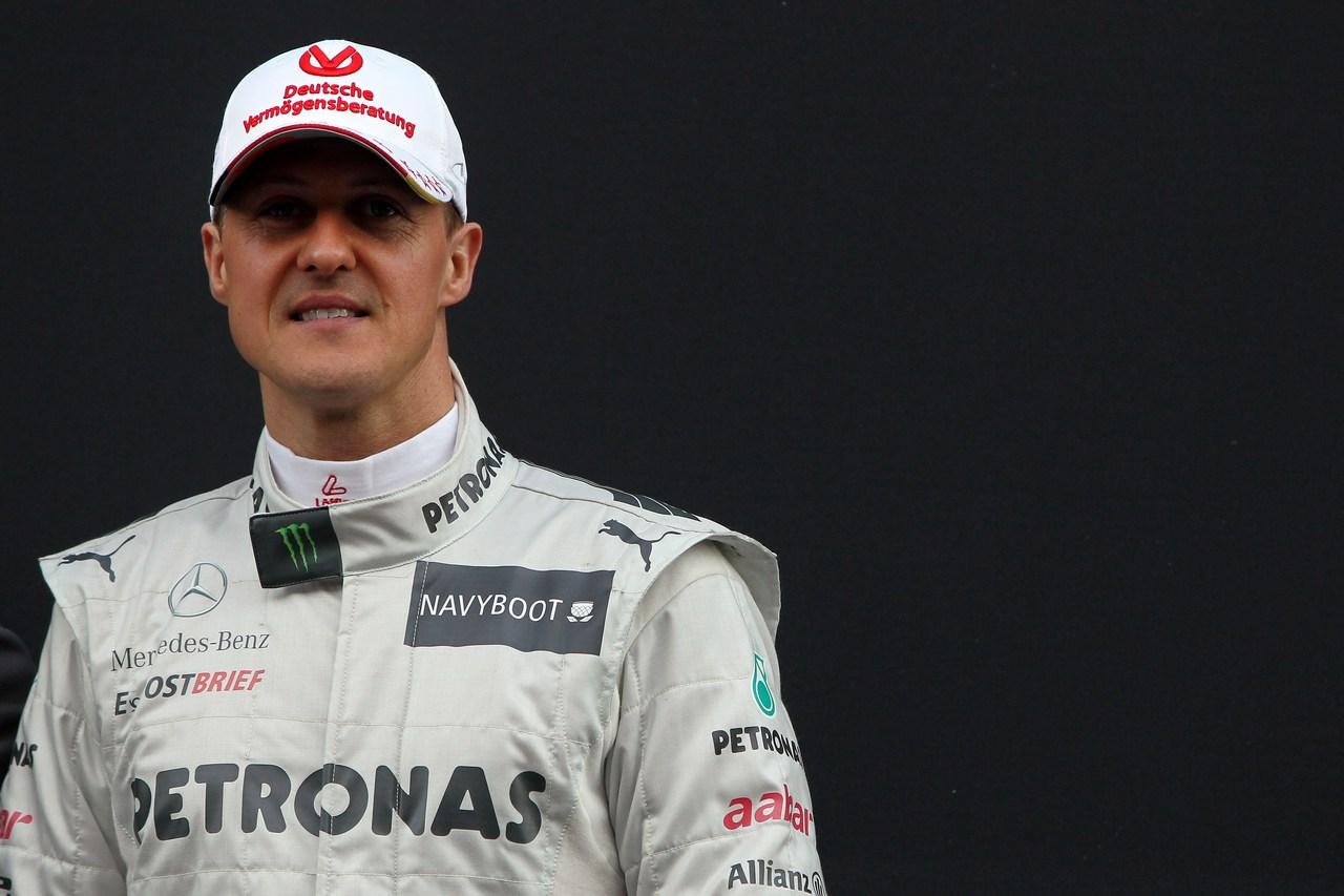 21.02.2012 Barcelona, Spain, Michael Schumacher (GER), Mercedes GP- Mercedes F1 W03 Launch
