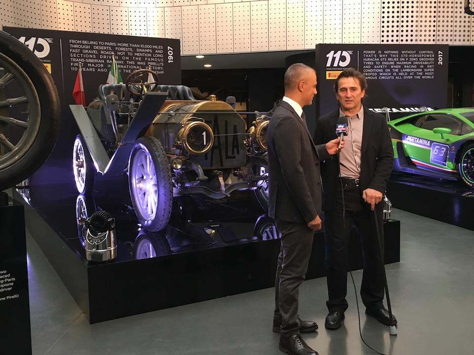 Pirelli 110 anni nel Motorsport