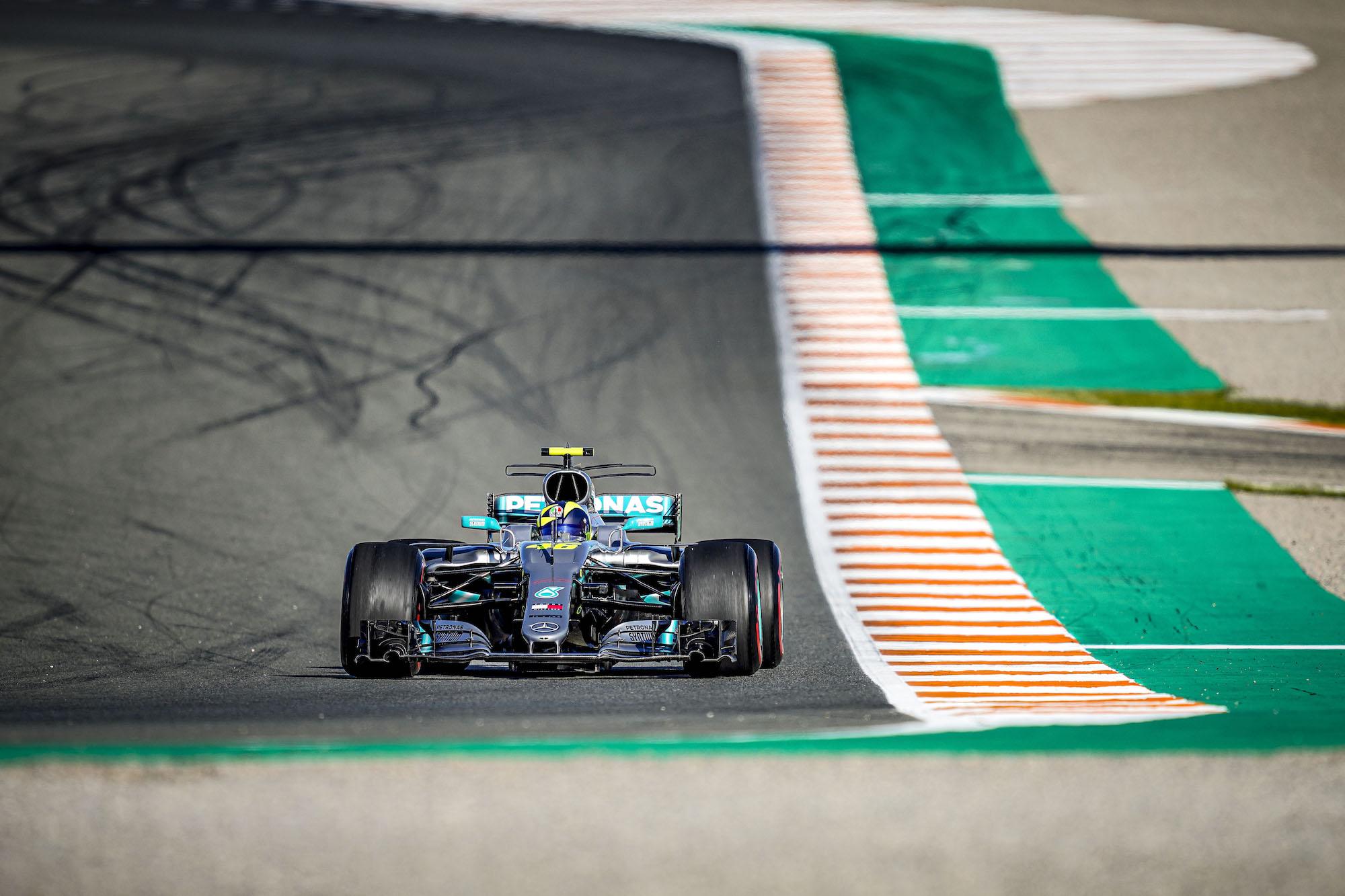 Scambio Rossi - Hamilton, Valencia 2019