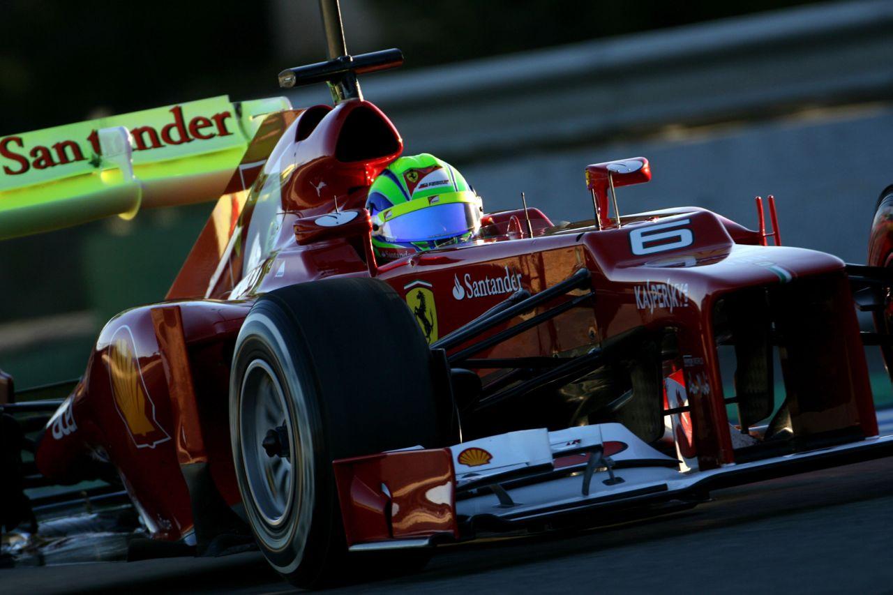 08.02.2012 Jerez, Spain, Felipe Massa (BRA), Scuderia Ferrari   - Formula 1 Testing, day 1 - Formula 1 World Championship