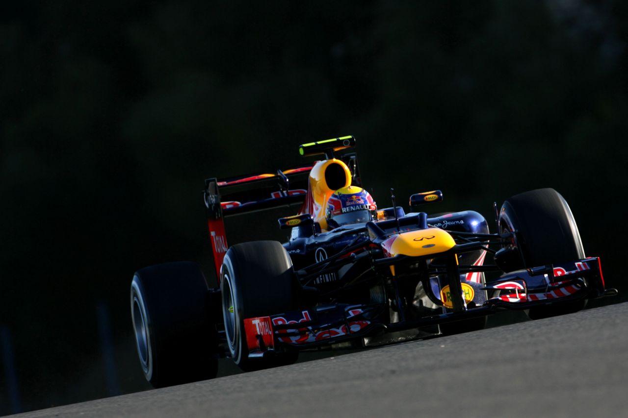 08.02.2012 Jerez, Spain, Mark Webber (AUS), Red Bull Racing   - Formula 1 Testing, day 1 - Formula 1 World Championship