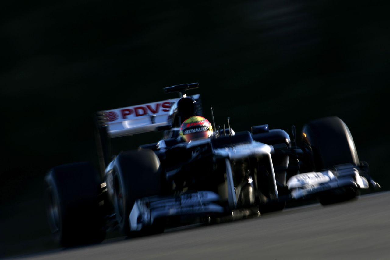 08.02.2012 Jerez, Spain, Pastor Maldonado (VEN), Williams F1 Team   - Formula 1 Testing, day 1 - Formula 1 World Championship