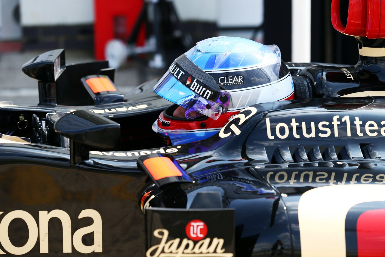 Nicolas Prost (FRA) Lotus F1 E21 Test Driver.