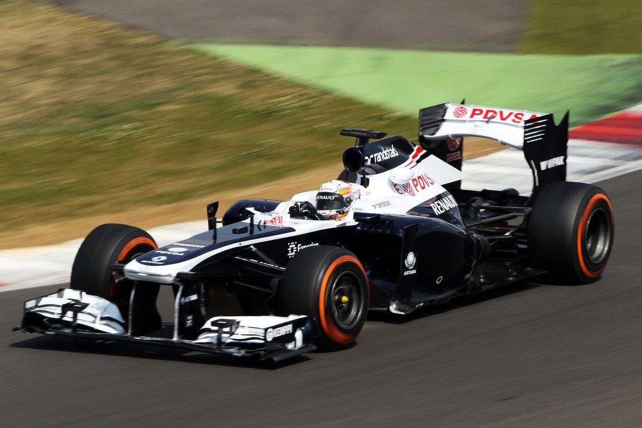 Daniel Juncadella (ESP) Williams FW35 Test Driver.