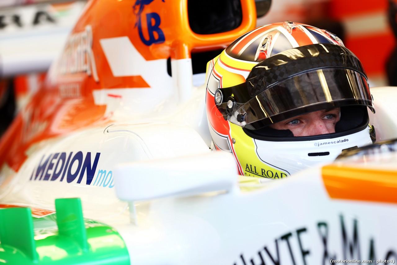 James Calado (GBR) Sahara Force India VJM06 Test Driver.