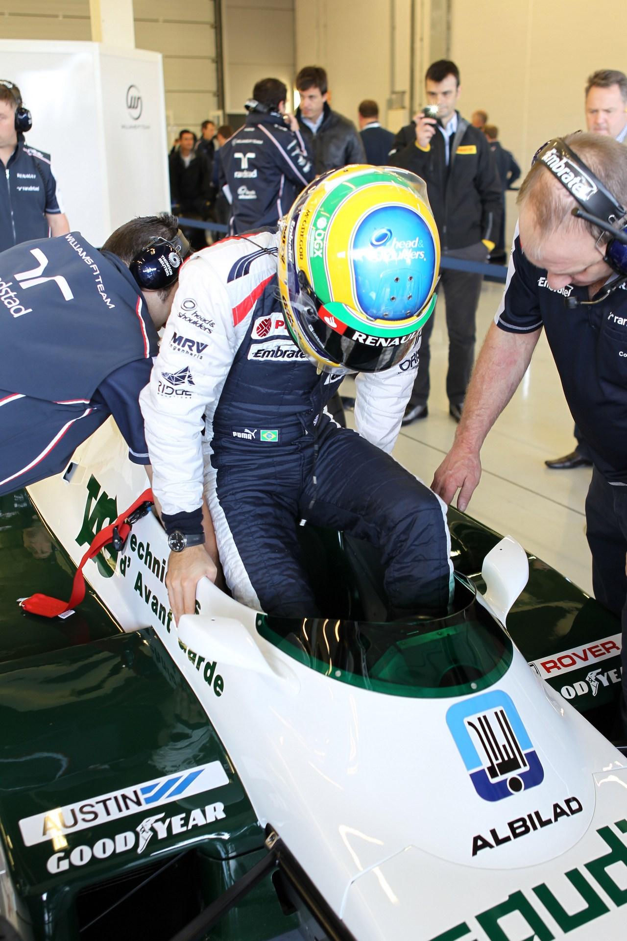 Bruno Senna (BRA), Williams F1 Team drives the Williams FW08