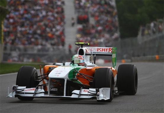 Force India: un buon venerdì in Canada