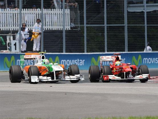 Force India: Mallya contento di rivedere Liuzzi competitivo