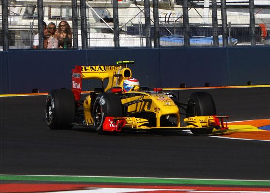 Renault a Valencia senza F-Duct