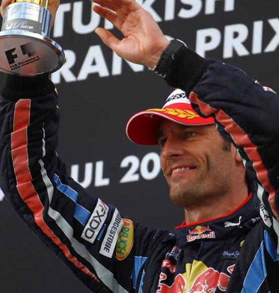 Un altro anno in Red Bull per Webber