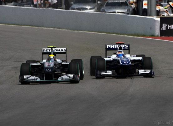 La Williams potrebbe confermare la formazione piloti per il 2011