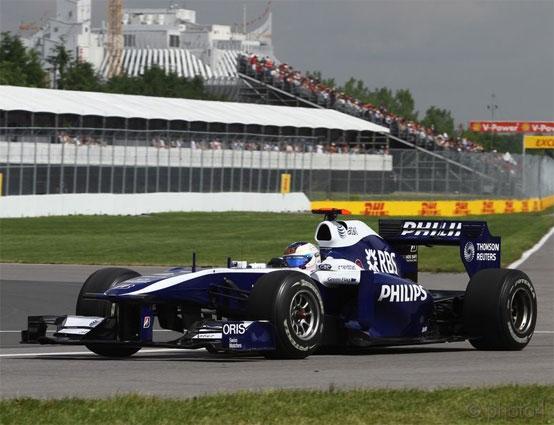 Williams: provata con successo la nuova aerodinamica a Montreal