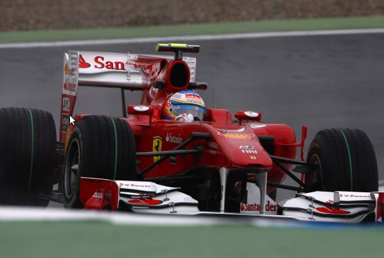 GP Germania, Prove Libere 2: Ferrari al top con Alonso