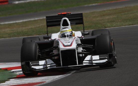 Sauber: Pedro de la Rosa felice per un posto nella top ten di Silverstone
