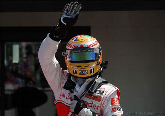 """Hamilton: Su Button un vantaggio """"strano"""""""