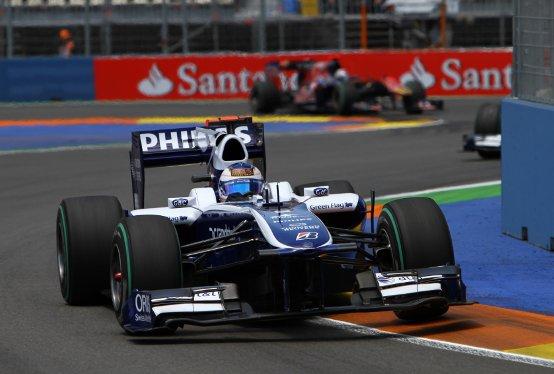 Williams F1 utilizzerà il KERS a batteria