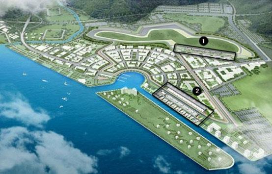 Ritardi nella costruzione del circuito di Formula 1 in Corea del Sud