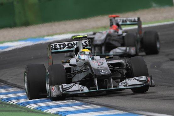 Mercedes GP: Delusione per il risultato in Germania