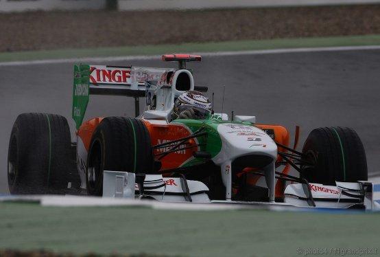 Force India: Sutil e Liuzzi competitivi a Hockenheim