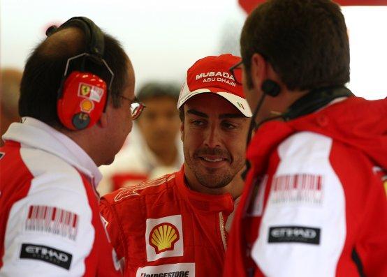 Alonso: Giornata positiva a Spa. Ferrari bene in tutte le condizioni di pista