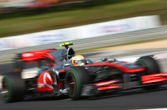 McLaren senza F-duct a Monza