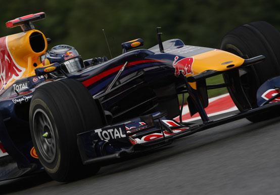 """Vettel: """"La Red Bull ha ancora un po' di lavoro da fare"""""""