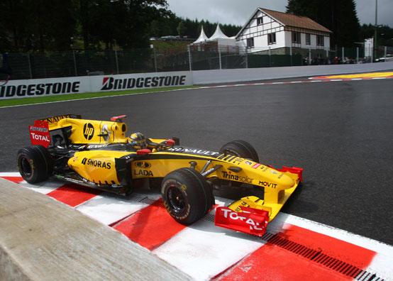 Renault: provato con successo l'F-duct nelle libere del GP Belgio