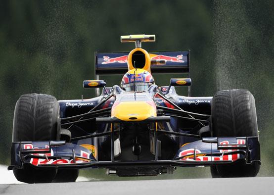 Red Bull: Webber non è preoccupato dai tempi del venerdì a Spa